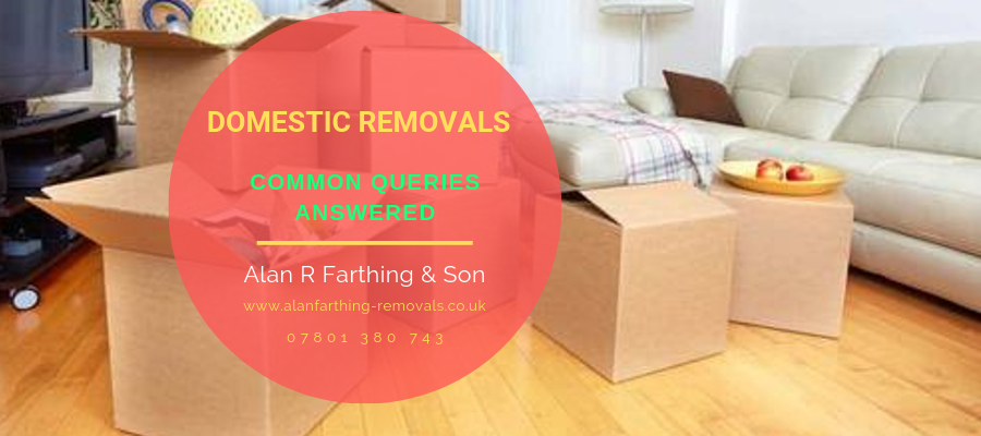 3 Common Queries About Domestic Removals Have Been Answered