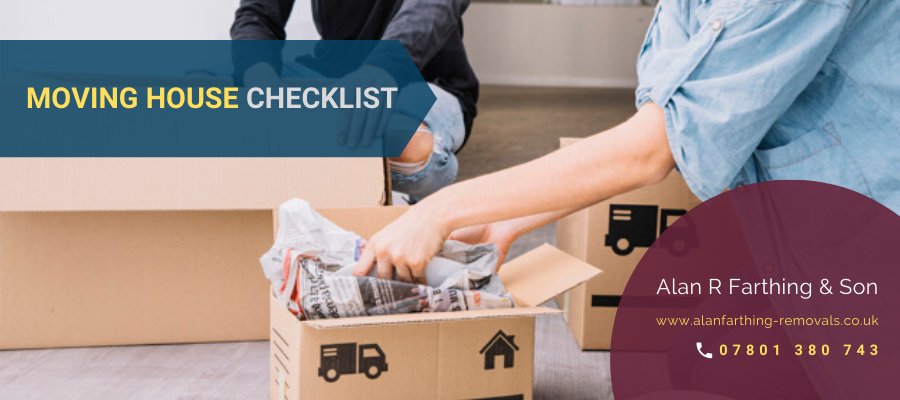 Moving House Checklist: Hire A Removals Company & Ensure An Easy Move