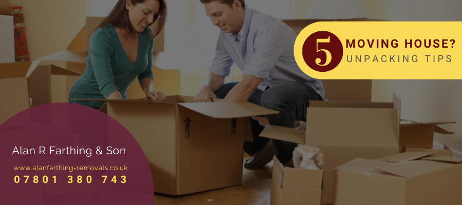 Moving House? 5 Unpacking Tips You Will Love Reading